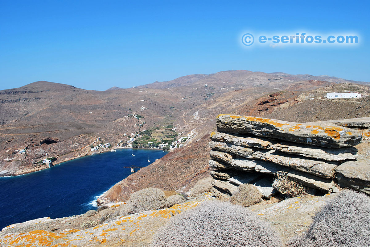 The Throne of the Cyclops in Serifos