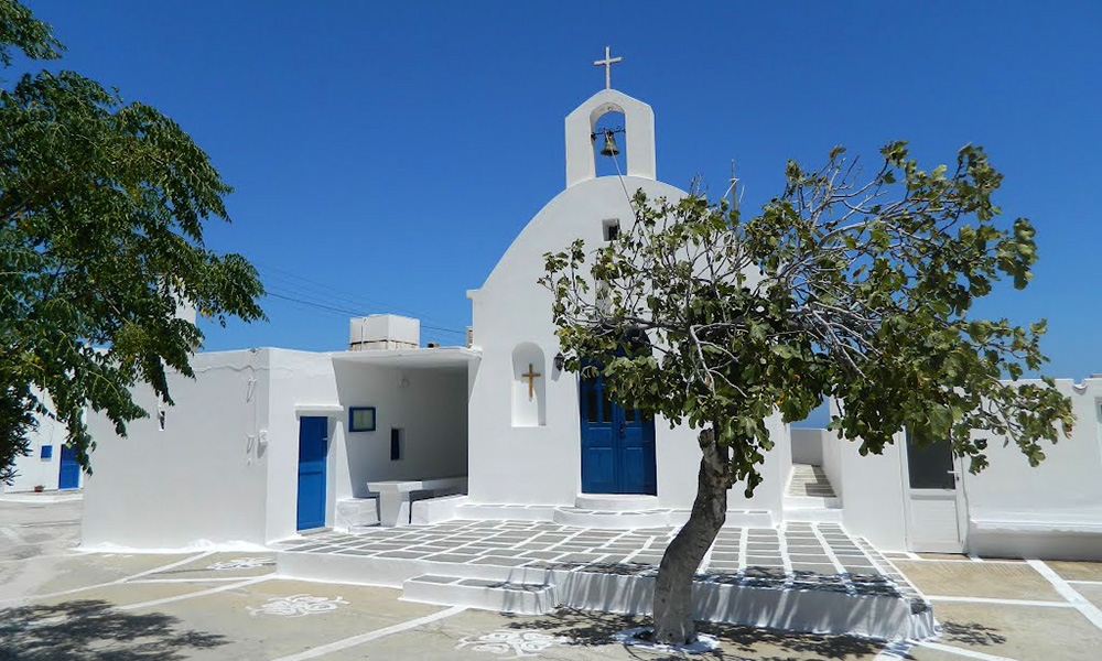 The church of Panagia in Ramos