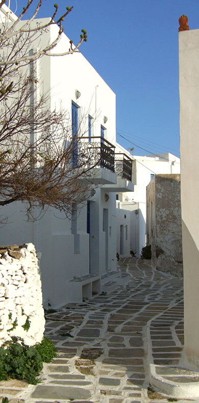 The capital of Serifos