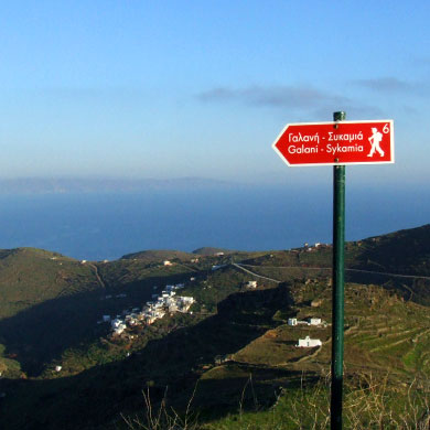 trails and trekking in Serifos