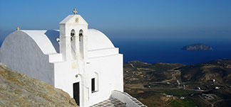churches and monasteries in Serifos