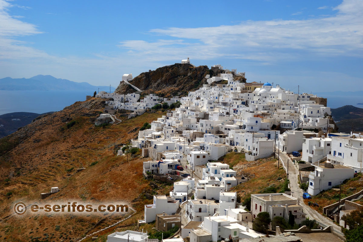 The capital of Serifos, Chora