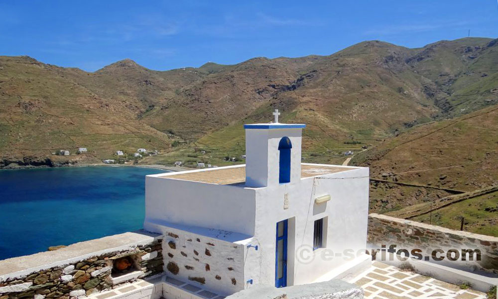 The church Panagia Vouno at the area of Avessalos